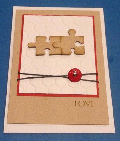 You complete me card #love #handmade
