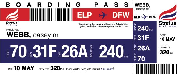 Stratus Airlines: Brand Identity on Student Show