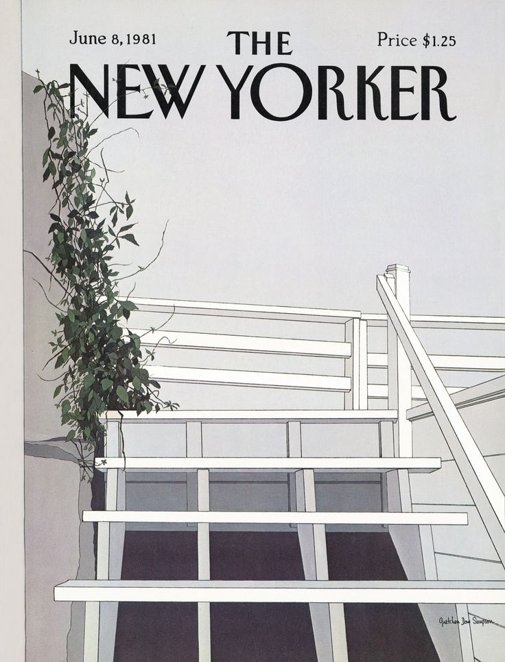 The New Yorker   Monday  June 8  1981   Issue   2938   Vol  57   N   16   Cover by   Gretchen Dow Simpson