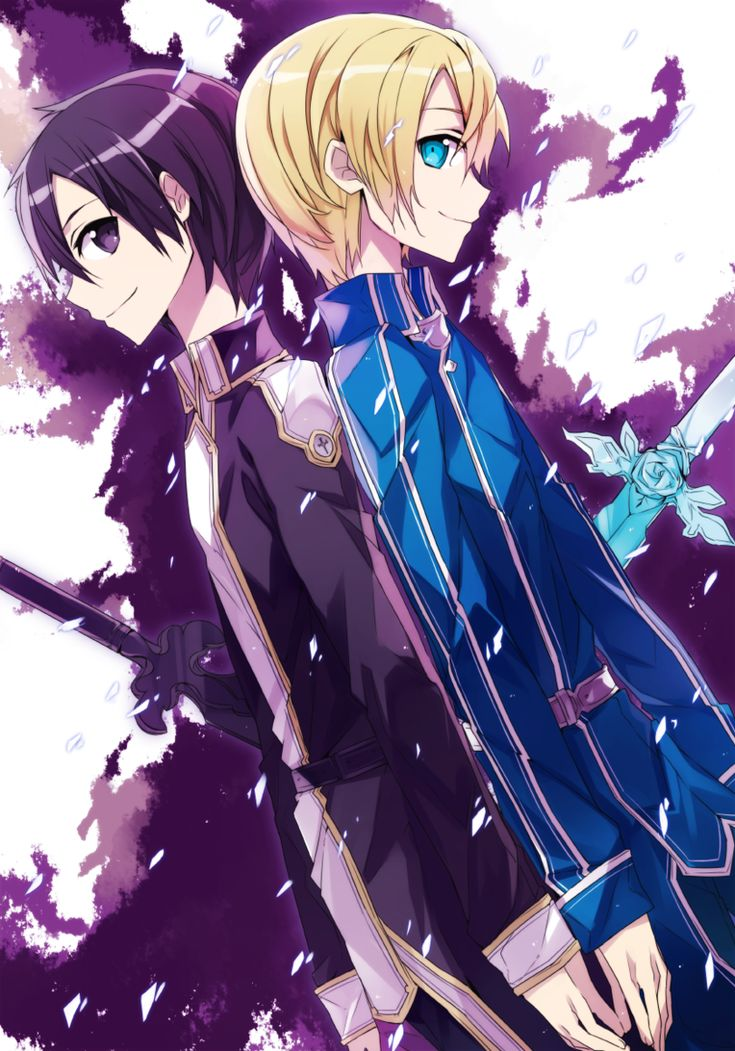 Sword Art Online - Kirito and Eugeo
