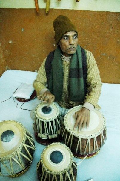 Tabla lesson - Varanasi