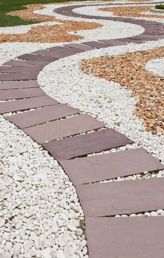 HappyModern.RU | Садовые дорожки своими руками (45 фото): материал, форма, особенности | http://happymodern.ru