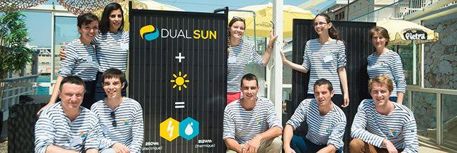 Avec le panneau solaire hybride DualSun, vous n'avez plus à choisir entre panneaux photovoltaïques ou panneaux thermiques !