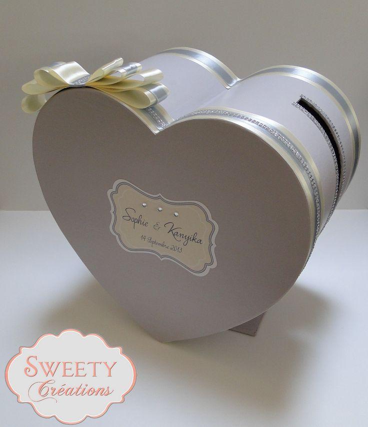 28 best wedding card box urne de mariage images on pinterest wedding card boxes wedding. Black Bedroom Furniture Sets. Home Design Ideas