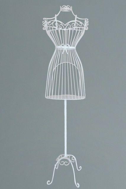 decorative vintage metal mannequin dress stand | new house - master