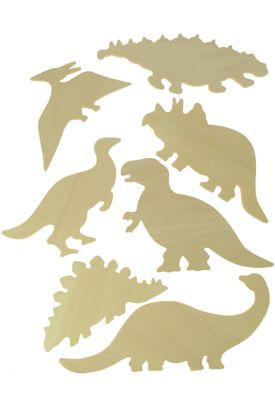 Dinosaurs Wooden Templates
