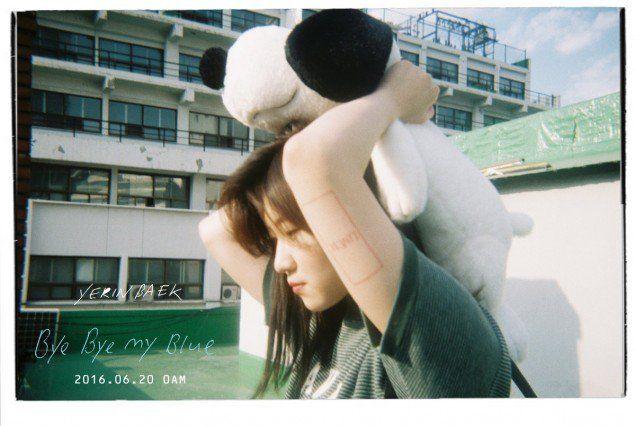 Baek Ye Rin Releases Music Video Teaser for 'Bye Bye my Blue' | Koogle TV