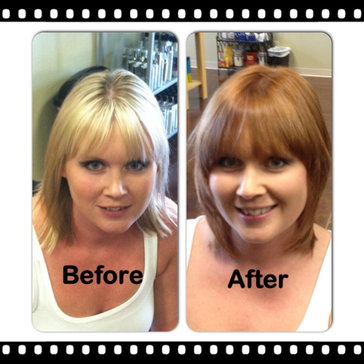mid-shaft to ends. | Kenra Professional. Kenra Color. Hair Color. More