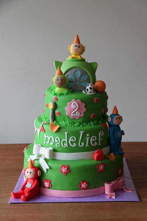 Mejores 11 Im 225 Genes De Teletubbies Cakes En Pinterest