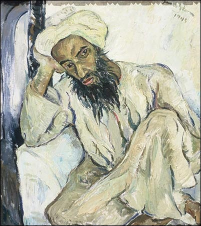 Arab Priest - Irma Stern 1945