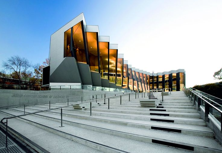 lyons has completed 'john curtin school of medical research', a research laboratory designed to enhance interactivity and collaborative research.
