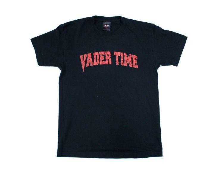 BIG VAN VADER 'VADER TIME' TEXT T-SHIRT LG