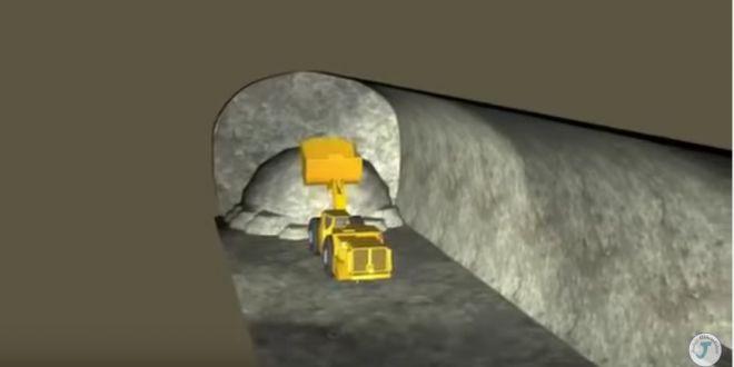 Tünel Açma Animasyonu