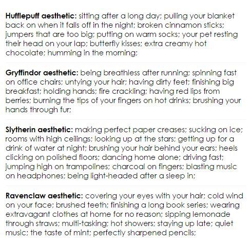 So... I'm Ravenclaw, then Slytherin, then Hufflepuff and lastly, Gryffindor.  It makes sense.