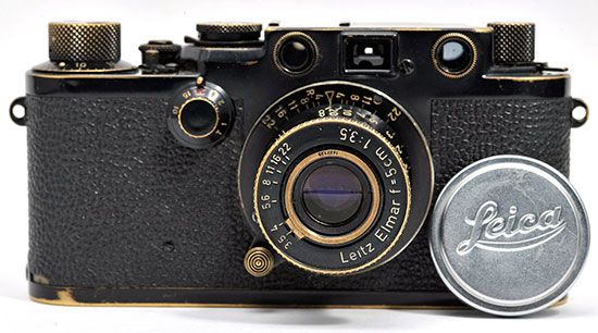 Leica-IIIf-Black-Paint-Swedish-Army-Rangefinder-Camera-(14S011)