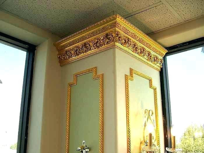 Image Result For Green Walls Gold Crown Molding Country House