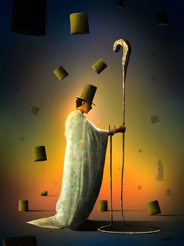 Marcel Caram Surreal Art