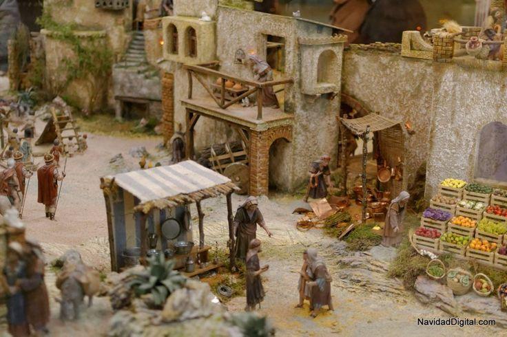 Vida en 1000 667 belenismo pinterest Calle belen madrid