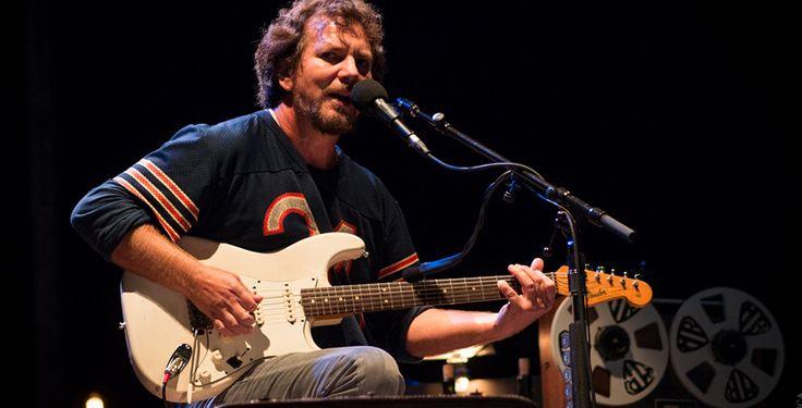 Eddie Vedder, duas horas para ouvir Black   Arte Sonora