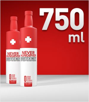 Never Hungover | Never Hungover - The World's Leading Hangover Prevention Drink