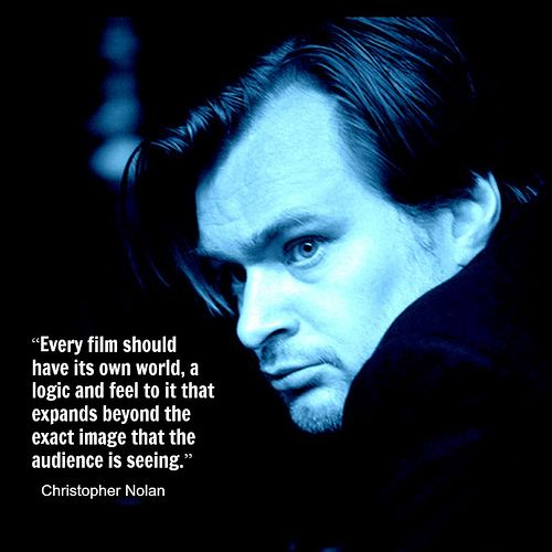 Film Director Quote - Christopher Nolan - Movie Director Quote   #christophernolan