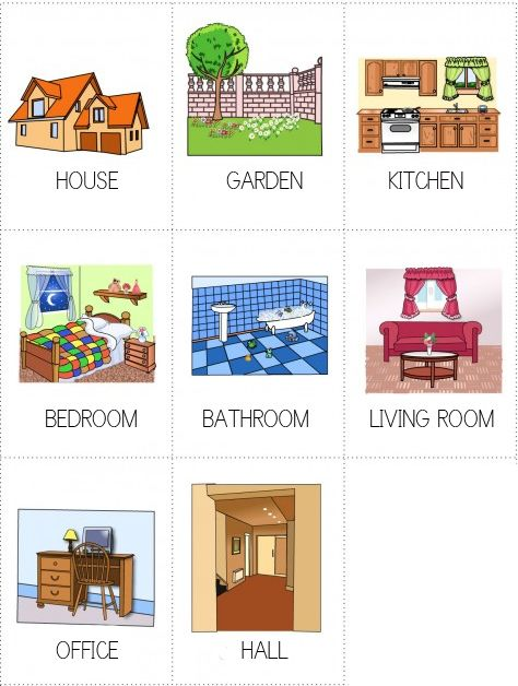 rooms in a house   ROOMS IN A HOUSE jpg. 44 best rooms of a house images on Pinterest   Teaching english