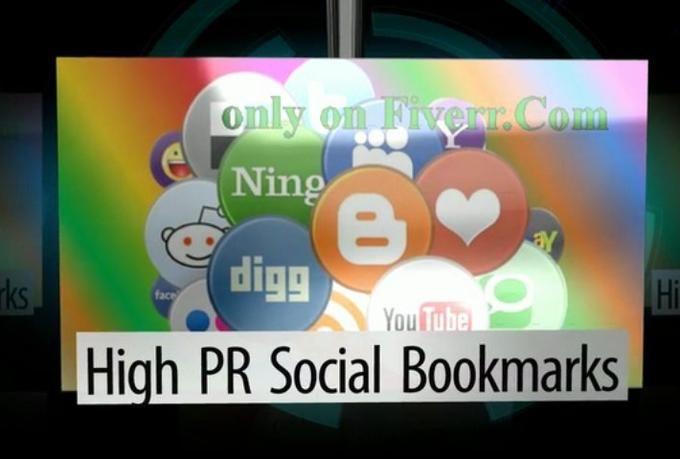 SEO - High PR Social Bookmarks  #SEO #Backlinks #Miami #LocalSEO
