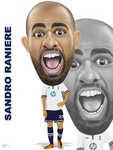 Sandro's new look, loving it and can't wait to see him play again this season