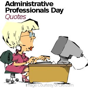 administrative professionals day quotes gift and greeting card