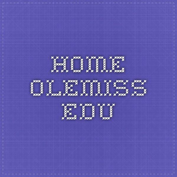 home.olemiss.edu