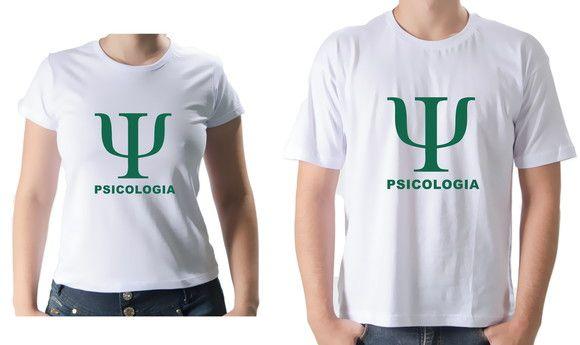 13e4d14ae6 Camiseta Personalizada Universitária Saúde Psicologia