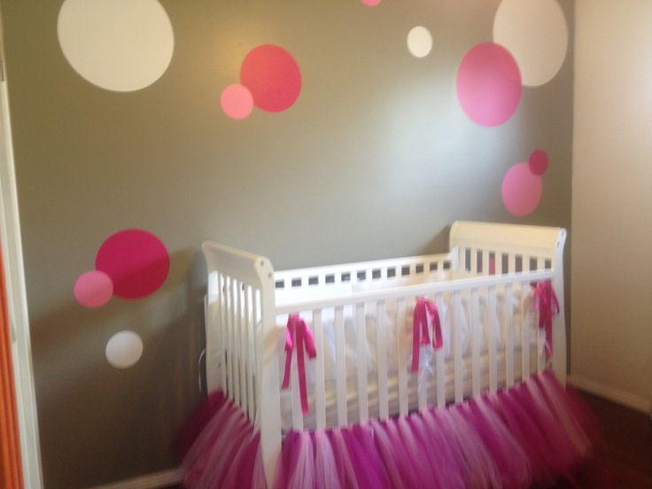Girls Bedroom Paint Ideas Polka Dots 15 best baby room ideas images on pinterest | babies nursery, baby
