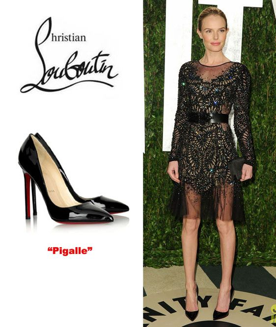 Christian Louboutin - Pigalle 120 Patent Leather Pumps. Bringing back the  pointy toe!  45755ef7e
