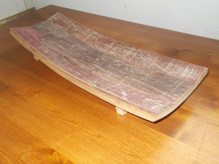 1617 - Centrotavola da doghe di #botti #barrique per arredamento rustico prodotti da Briganti srl - 0547 310171