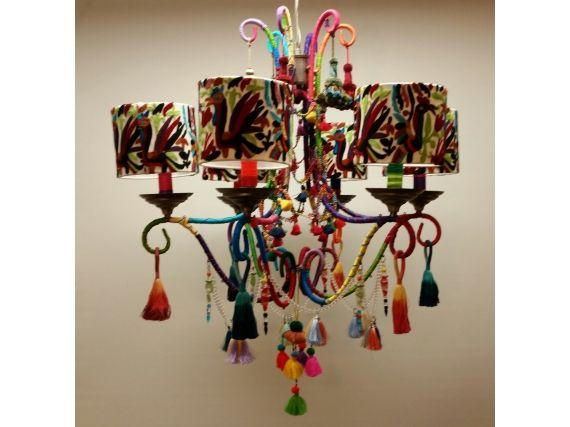 artsy lighting. embroidered chandelier artsyhome artsy lighting