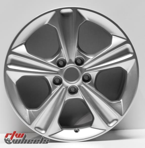 """17"""" Ford Escape oem replica wheels 2013-2016  for rims 3943 - https://www.rtwwheels.com/store/shop/17-ford-escape-oem-replica-wheels-for-sale-rims-aly03943u20n/"""