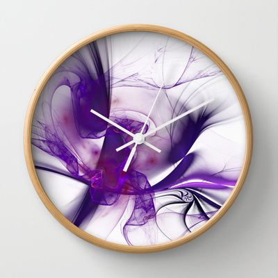 Fractal Design Wall Clock by Fine2art - $30.00