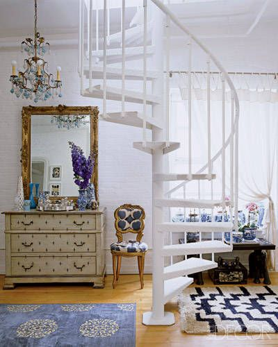 GLOBAL IMPACT   Madeline Weinribu0027s New York Home   The Bedroom Mirror,  Chest Of Drawers