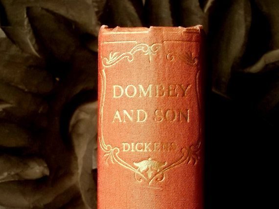 Dombey and Son by Charles Dickens by EAGERforWORD on Etsy, £15.00