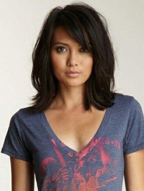 Schulterlange Haarschnitte Für Runde Gesichter 20 Neueste