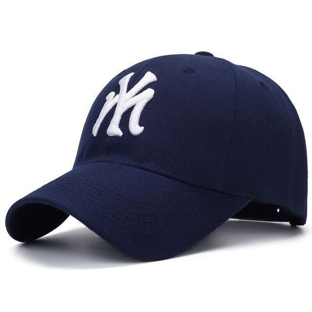 Best brand unisex fashion cotton baseball cap NY snapback hat for men women  sun hat letter embroidery cap male sport bone gorra 48c962b542b9