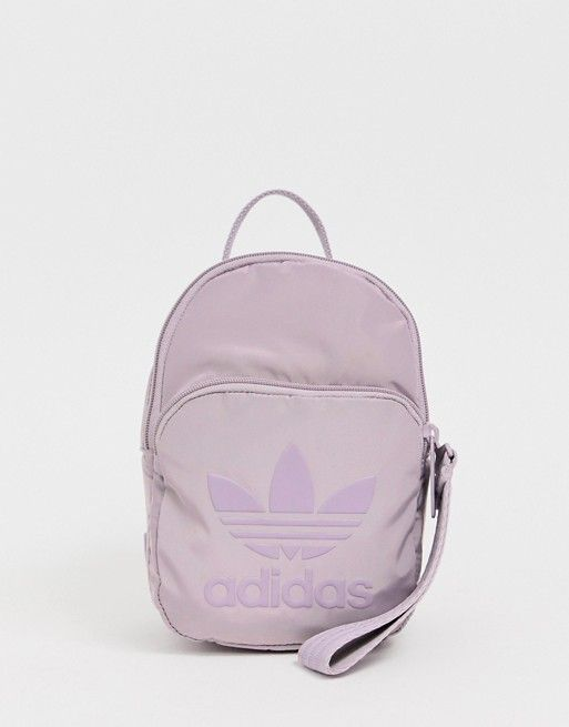 5c95df449f adidas Originals Sleek mini backpack in purple in 2019