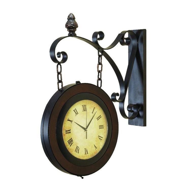 29 best Clocks images on Pinterest Wall clocks Metal walls and