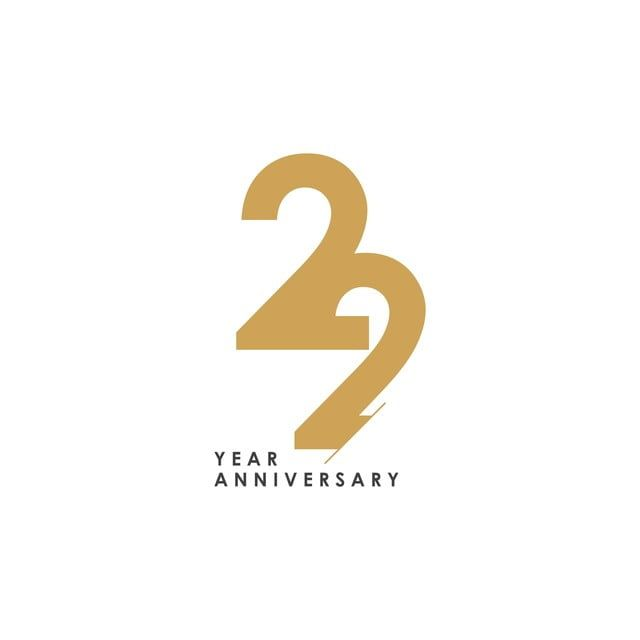 Gambar 22 Tahun Ulang Tahun Logo Vektor Template Bentuk Ilustrasi Dua Puluh Dua 22 Abstrak Png Dan Vektor Untuk Muat Turun Percuma Template Ilustrasi Ilustrasi Vektor