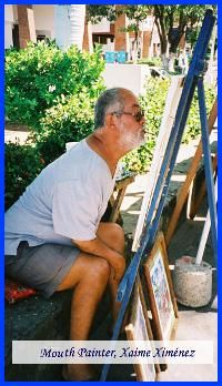 Xaime Ximenez Mouth Painter