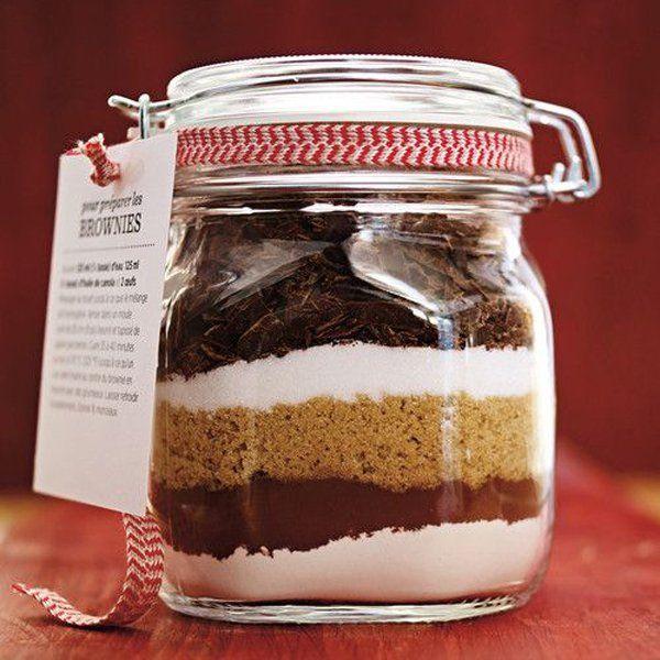 Cadeau de Noël fait maison : un Sos brownie pour ma copine cuisinière