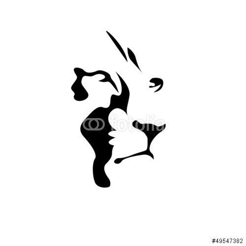 Vector: Logo Lion, strength and courage concept # Vector