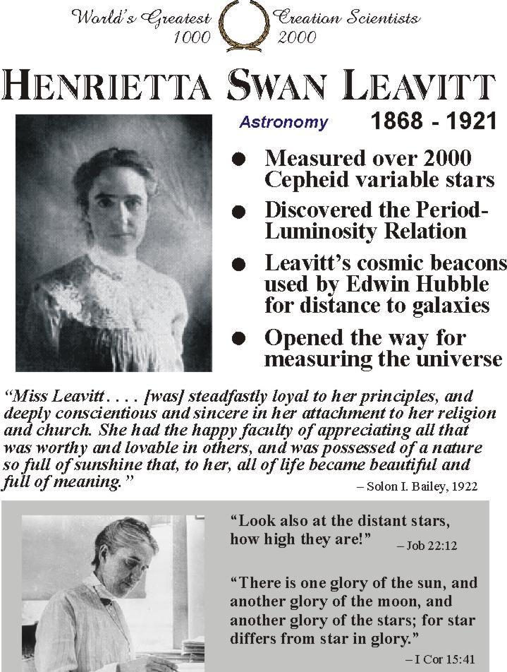 Henrietta Swan Leavitt - Astronomer