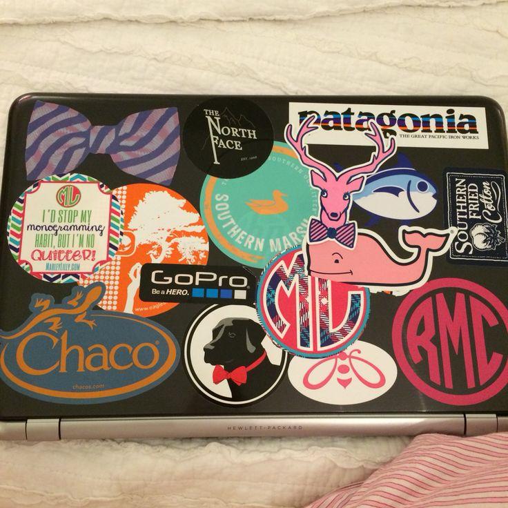Preppy Car Stickers Best 25+ Preppy laptop...