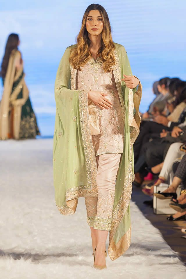 Sadaf Amir Pakistan Fashion Week 9 collection 2016 Photos